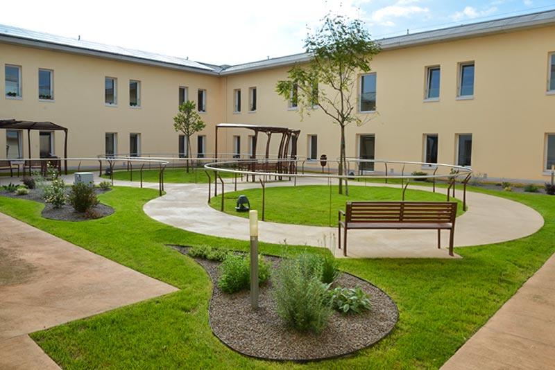 Giardino Alzheimer - Casa di riposo Roncade Treviso