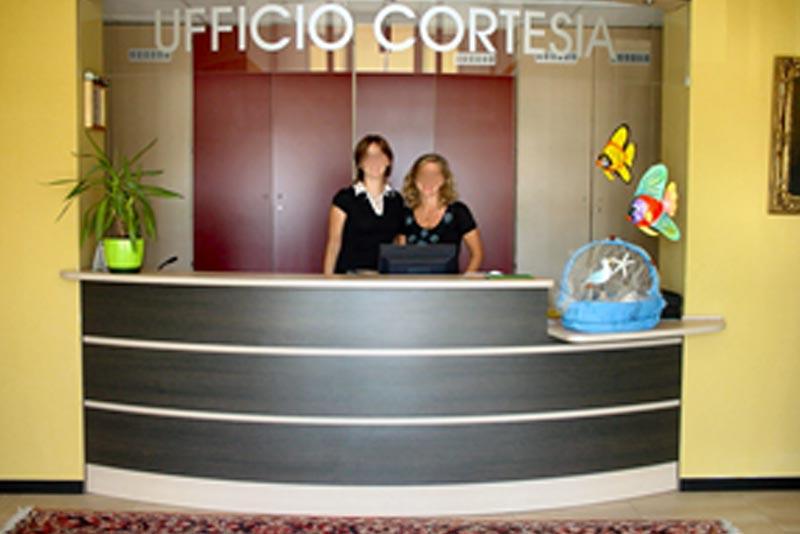 Ufficio Cortesia - Casa di riposo anziani Roncade Treviso